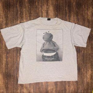 Vintage 90s kermit the frog Kermit Clein Tshirt